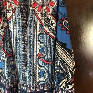 INC International Concepts Tops - Multi - Color printed top